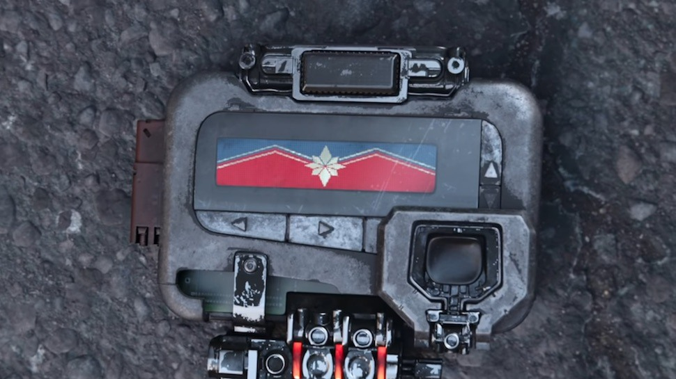 MCU Captain Marvel Pager
